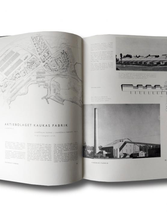 Suomen teollisuuden arkkitehtuuria - Industriarkitektur i Finland - Industrial Architecture in Finland