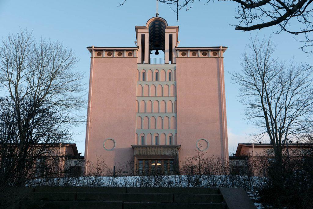 Töölö Church by Hilding Ekelund (1930)