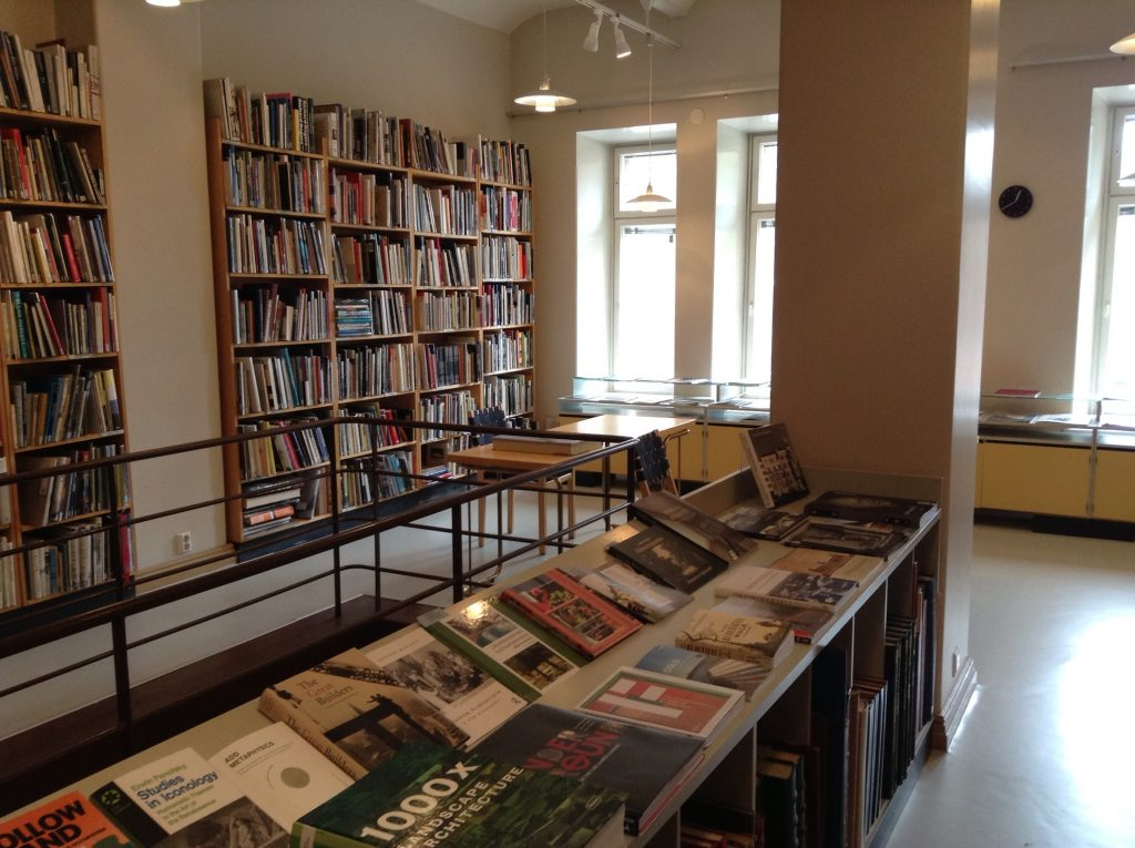 Museum of Finnish Architecture library