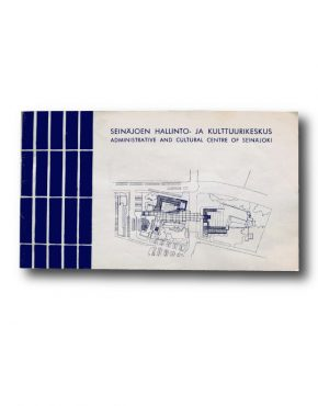 Administrative and cultural centre of Seinäjoki booklet cover