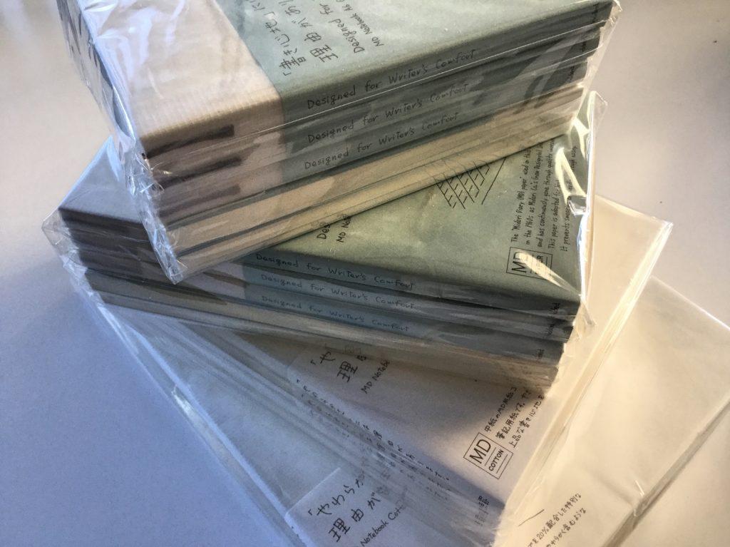 Midori MD notebooks