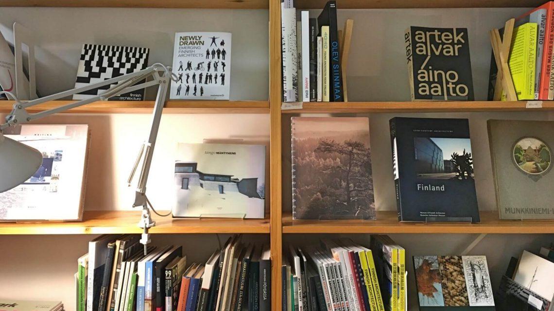 Hietsun paviljonki bookshelf