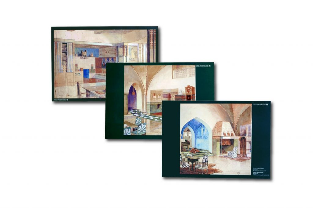 Suur-Merijoki Eliel Saarinen akvarellit