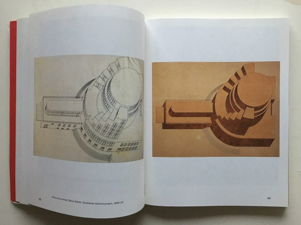 Stefan Sebök drawings from In Search of a Forgotten Architect by Lilly Dubowitz