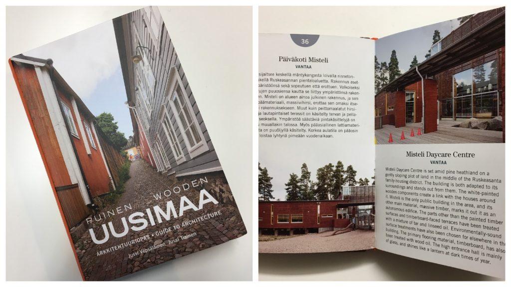 Puinen Uusimaa Wooden Uusimaa architecture guidebook