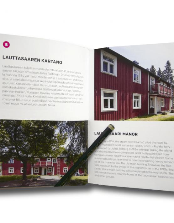 Puinen Helsinki arkkitehtuuriopas Wooden Helsinki guide to architecture