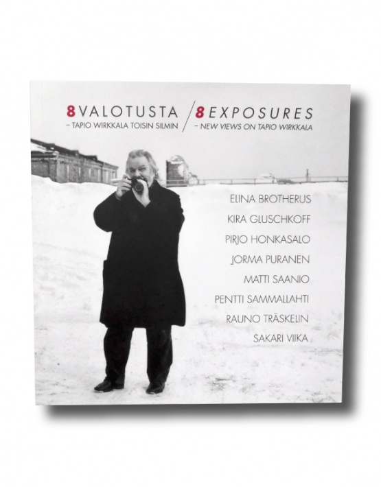 8 valotusta Tapio Wirkkala toisin silmin, 8 Exposures - New Views on Tapio Wirkkala book cover