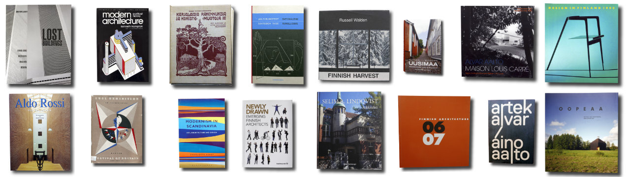 bookm-ark architecture book covers