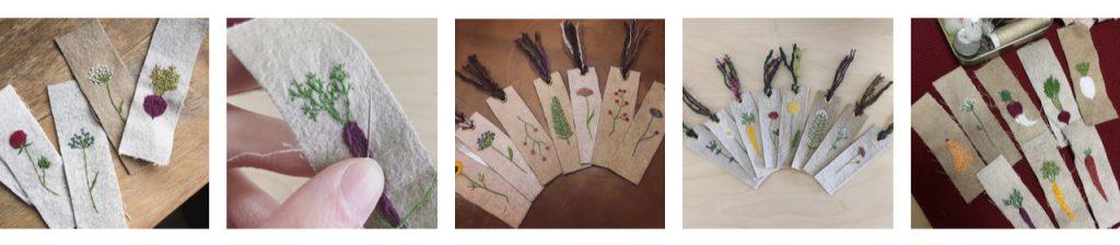 Hikari Tanaka Kirin handmade bookmarks