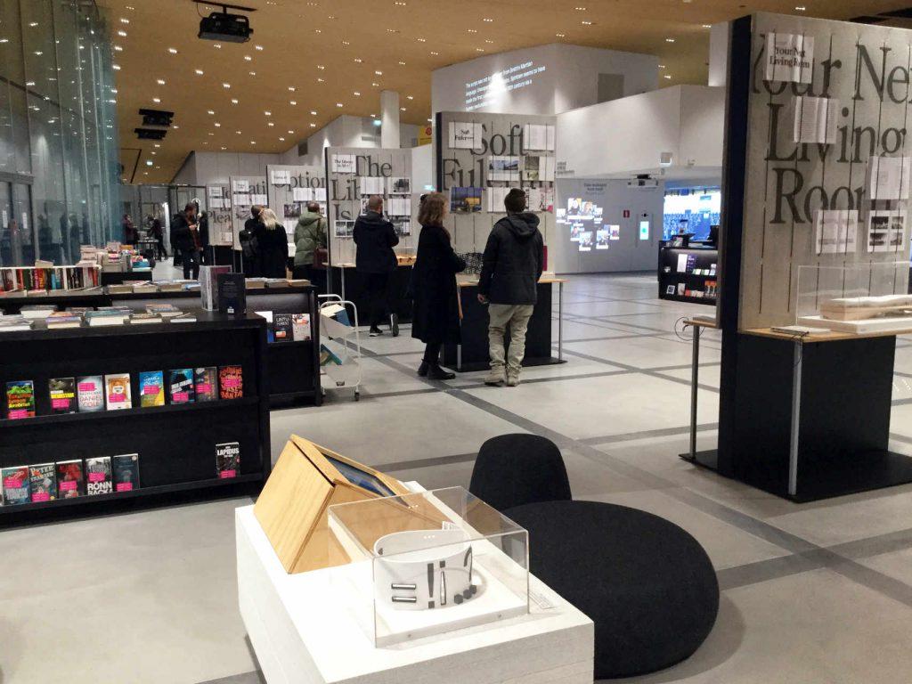 Mind-Building Oodissa / Mind-Building exhibition at Oodi Helsinki