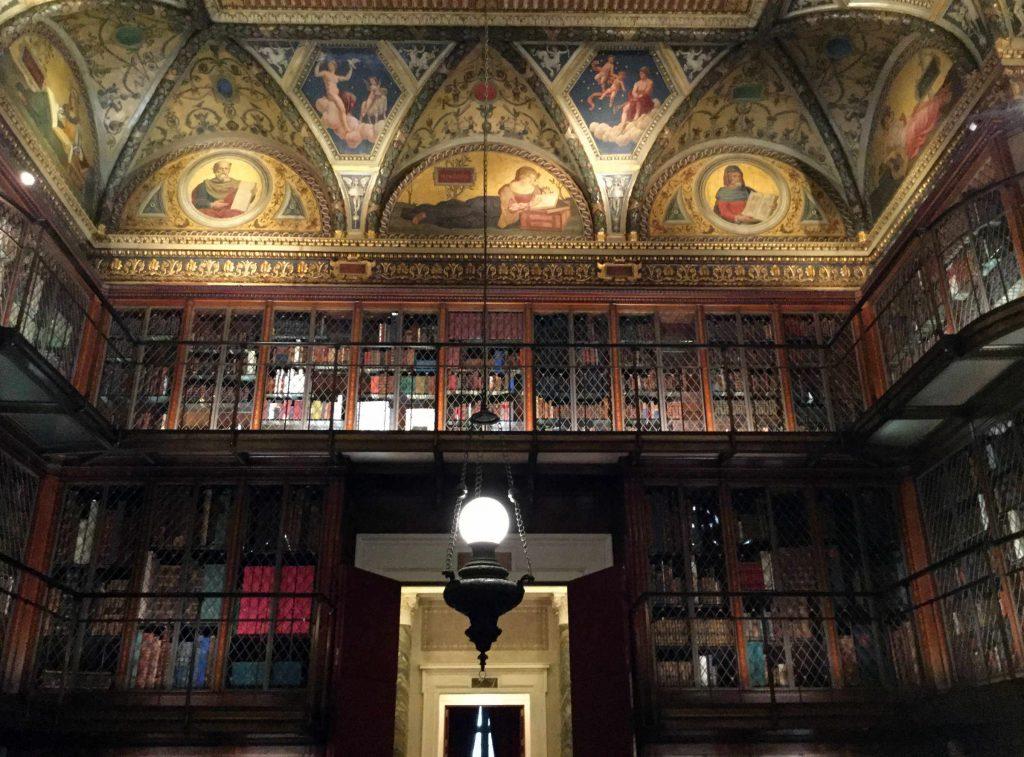 Amazing Morgan library. Photo: Anni Vartola.