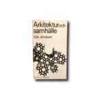Image of the book Arkitektur och samhälle